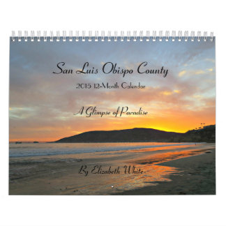 San Luis Obispo County 2015 kalender