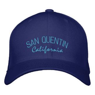 San Quentin Kalifornien broderad hatt Broderad Keps