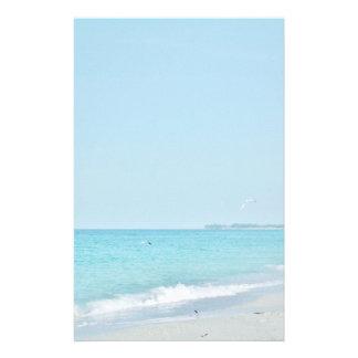 Sand och surfa brevpapper