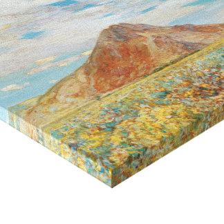 Sand Springs Butte av Childe Hassam, vintagekonst Canvastryck