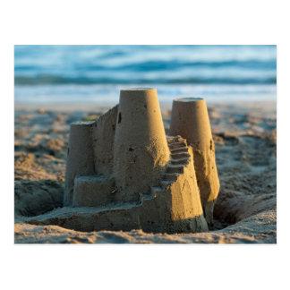 Sandcastle postcard vykort