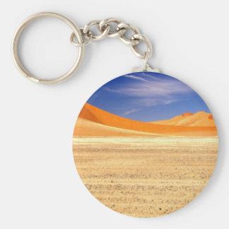 Sanddyner av Namibia Rund Nyckelring