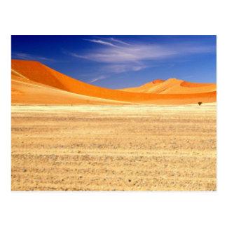 Sanddyner av Namibia Vykort