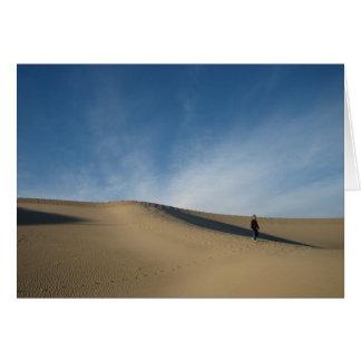 Sanddyner Hälsningskort