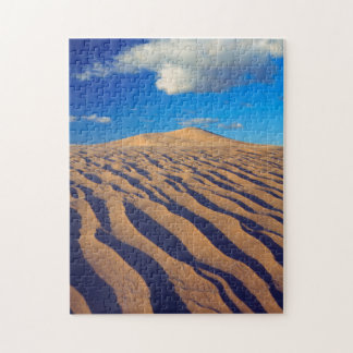 Sanddyner och moln pussel