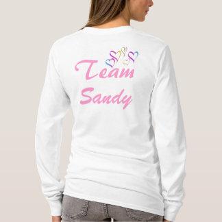 Sandig Hooded skjorta för lag Tröja