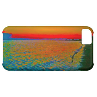 "'Sandig iphone case för krok Sunset10"" iPhone 5C Fodral"