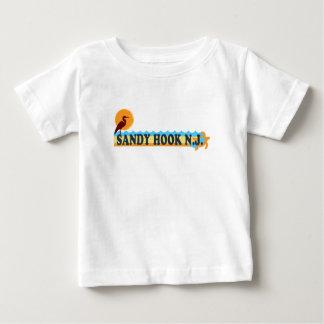 Sandig krok tee shirts