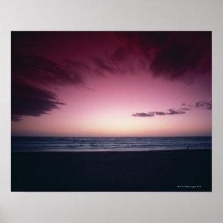 Sandig strand 2 poster