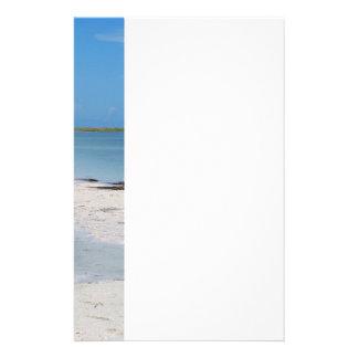 Sandig strand brevpapper