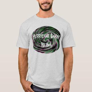 Sandiga slag för orkan t-shirts