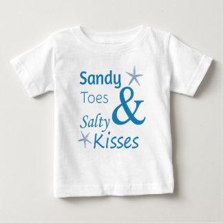 Sandiga Toes och salt citationstecken för T-shirts