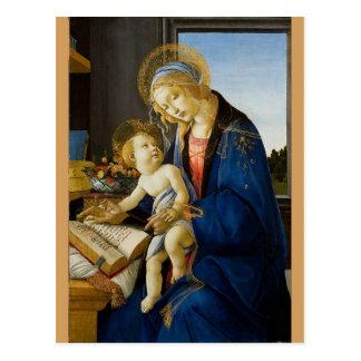 Sandro Botticelli - oskulden och barnet Vykort