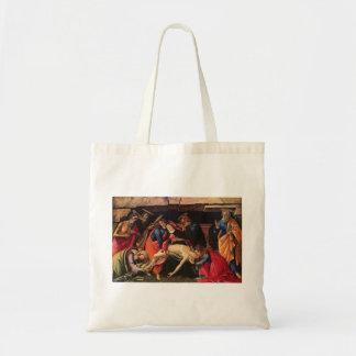 Sandro Botticelli passion av Kristus hänger lös Tygkasse