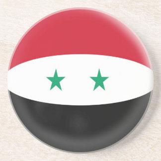 Sandstenkustfartyg - Syrien syriansk flagga Underlägg