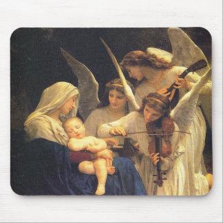 Sång av änglar, William-Adolphe Bouguereau Musmatta