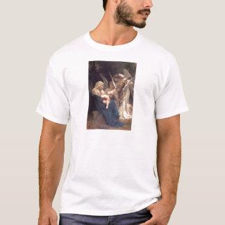 Sång av änglar - William-Adolphe Bouguereau T-shirt