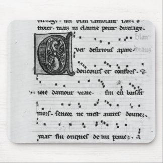 Sång för Ms.Fr 844 fol.138v av Blondel de Nesles Musmatta