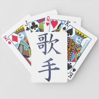 Sångare Spelkort