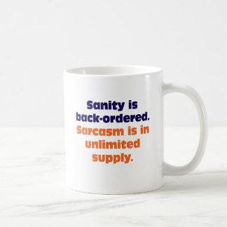 Sanity backordereds kaffemugg