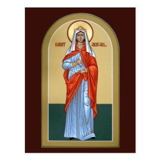 Sanktt Abigail bönkort Vykort