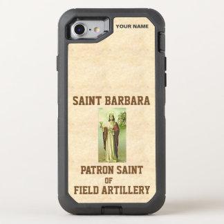 SANKTT BARBARA (skyddshelgonet av fältartilleri) OtterBox Defender iPhone 7 Skal