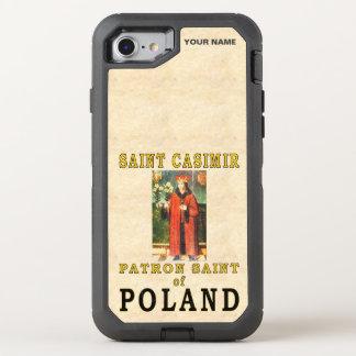 SANKTT CASIMIR (skyddshelgonet av Polen) OtterBox Defender iPhone 7 Skal