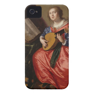 Sanktt Cecilia (olja på kanfas) iPhone 4 Cover