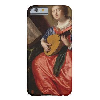Sanktt Cecilia (olja på kanfas) Barely There iPhone 6 Fodral