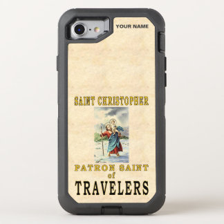 SANKTT CHRISTOPHER (skyddshelgonet av OtterBox Defender iPhone 7 Skal