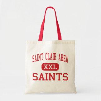 Sanktt Clair område - Saints - Sanktt Clair Tygkasse