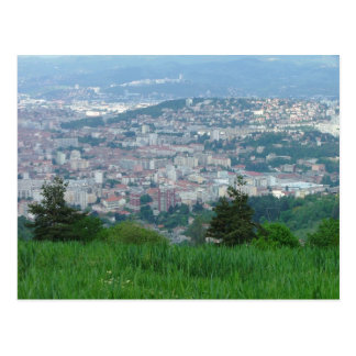 Sanktt-Etienne-Frankriken Vykort