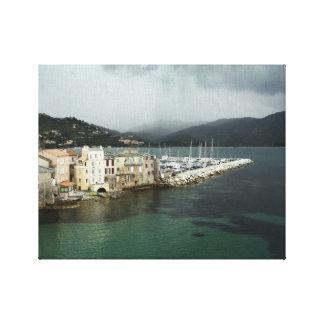 Sanktt-Florent kanvastryck -, Corsica