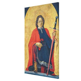 Sanktt Florian, italienare, C. 1473-74 Canvastryck