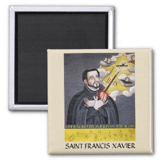 Sanktt Francis Xavier porträttmagnet Magnet