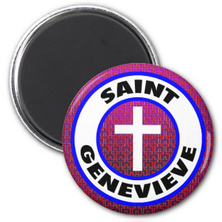 Sanktt Genevieve Magnet