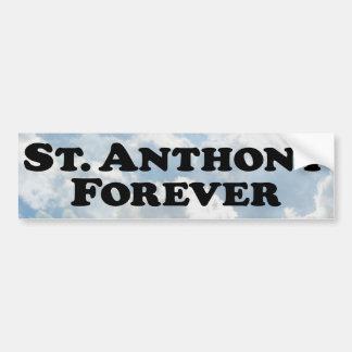 Sanktt grundläggande Anthony för evigt - Bildekal