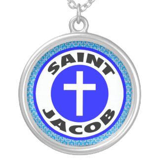 Sanktt Jacob Silverpläterat Halsband