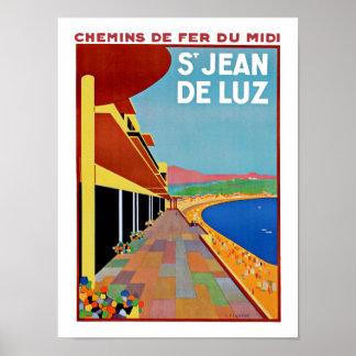 Sanktt Jean de Luz Poster