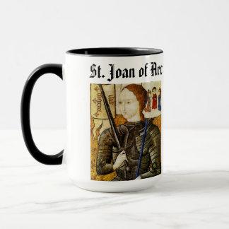 Sanktt Joan av coupen för bågkopp/Sainte Jeanne Mugg