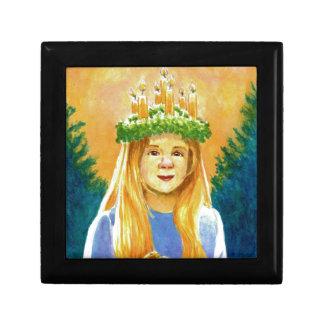 Sanktt Lucia Liten Presentask