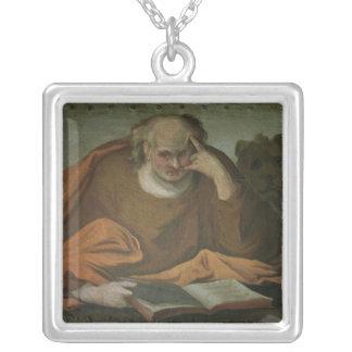 Sanktt markera evangelisten, 1588 silverpläterat halsband