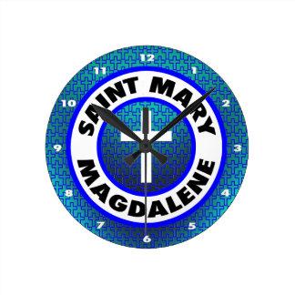 Sanktt Mary Magdalene Rund Klocka