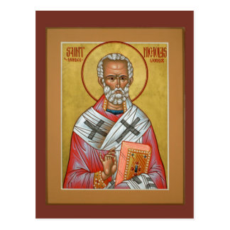 Sanktt Nicholas bönkort Vykort
