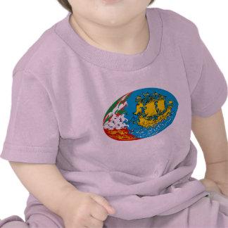 Sanktt Pierre och Miquelon Gnarly flaggaT-tröja