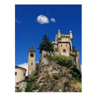 Sanktt Pierre slott, italien Vykort