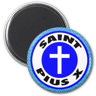 Sanktt Pius X Magnet