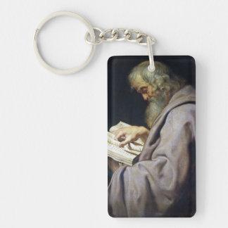 Sanktt Simon Peter Paul Rubens olje- porträtt