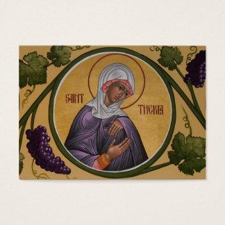 Sanktt Thekla Kortkort-Bön kort