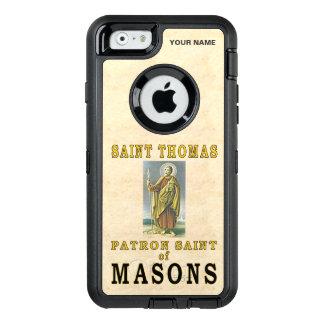 SANKTT THOMAS (skyddshelgonet av Masons) OtterBox Defender iPhone Skal
